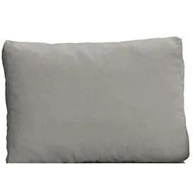 coussin deperlant exterieur 120 x 60 x 12 gris gri