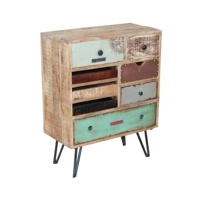 petite commode vintage sixties meuble