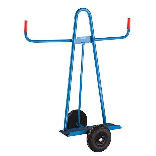 eurokraft chariot porte panneaux charge max 300 kg pneumatiques o roues 260 mm chariot chariot pour panneaux chariots diable