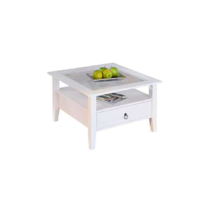 table basse pin blanc achat vente