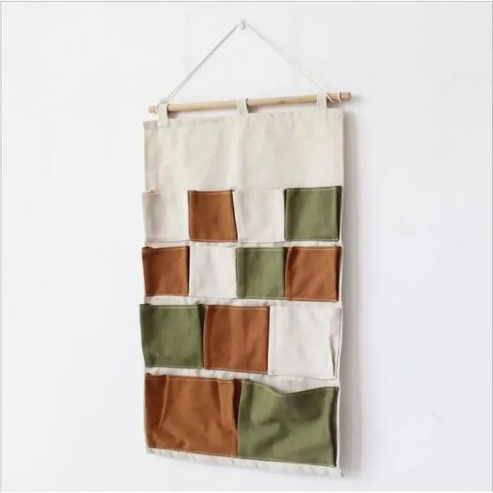 1pcs sac de rangement mural porte de poche sac su