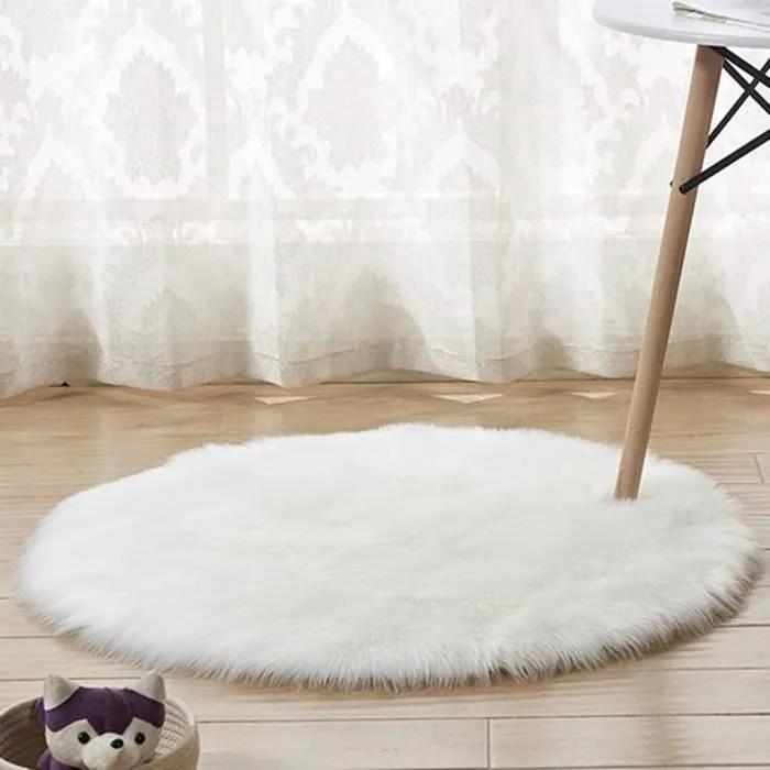 https www cdiscount com maison tapis fluffy tapis rond artificielle laine sol moquette f 11725 vol8049146757142 html