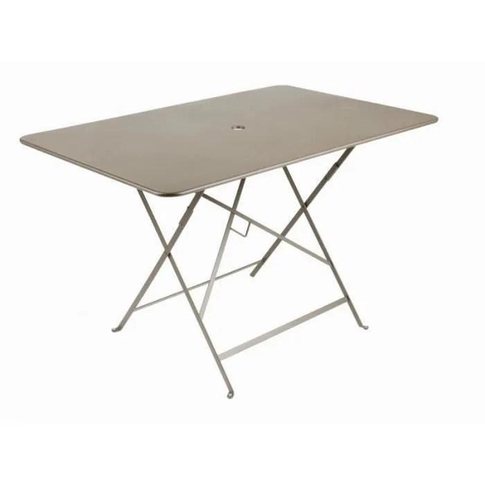 table bistro pliante 117x77 cm muscade fermob
