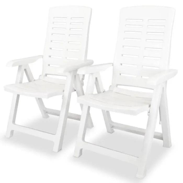 moderne lot de 2 chaise de jardin confortable in