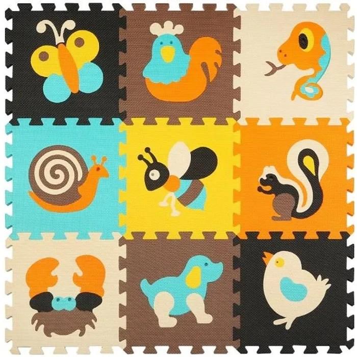 tapis de puzzles tapis de sol epais pour l eveil