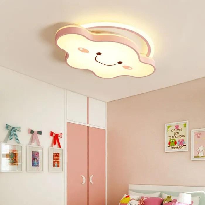 50w enfant led plafonnier nuage rose lampe de plafond pour bebe chambre a coucher salon luminaire decoration boutique 76 65 6cm