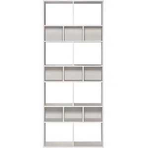 bibliotheque blanche design