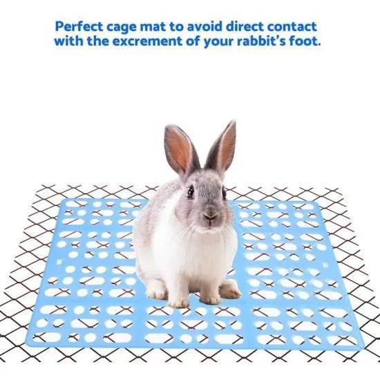tapis de cage pour lapin tapis de pied