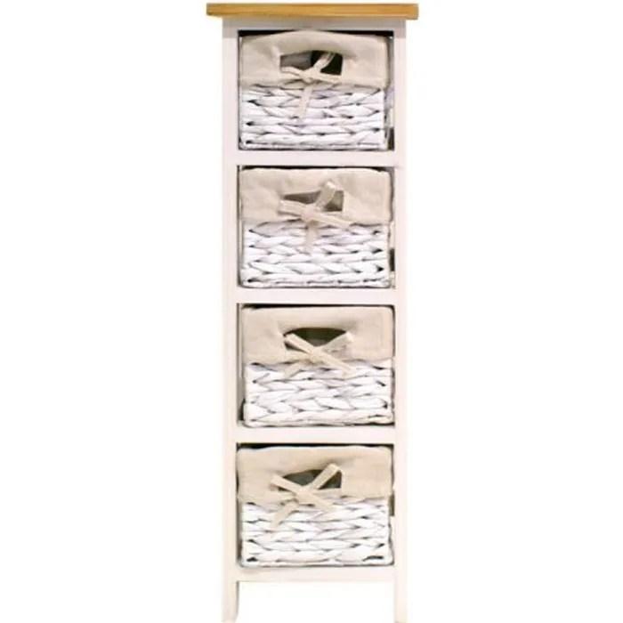 venezia petit meuble de salle de bain l 24 cm la