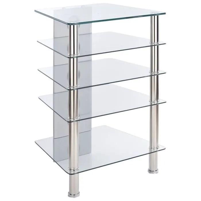 mt products mmt meuble hi fi 5 etageres