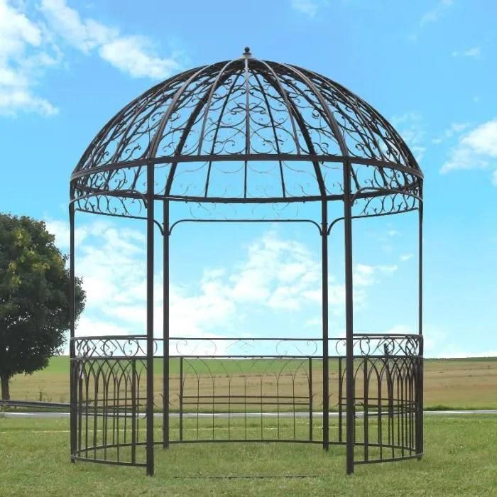 kiosque de jardin fer