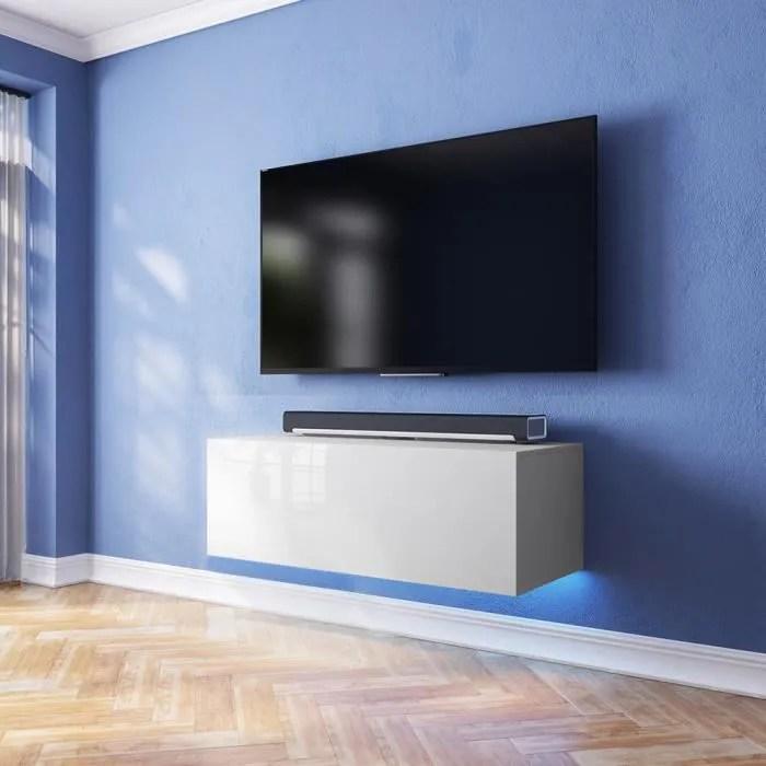 meuble tv meuble de salon suspendu skylara 1