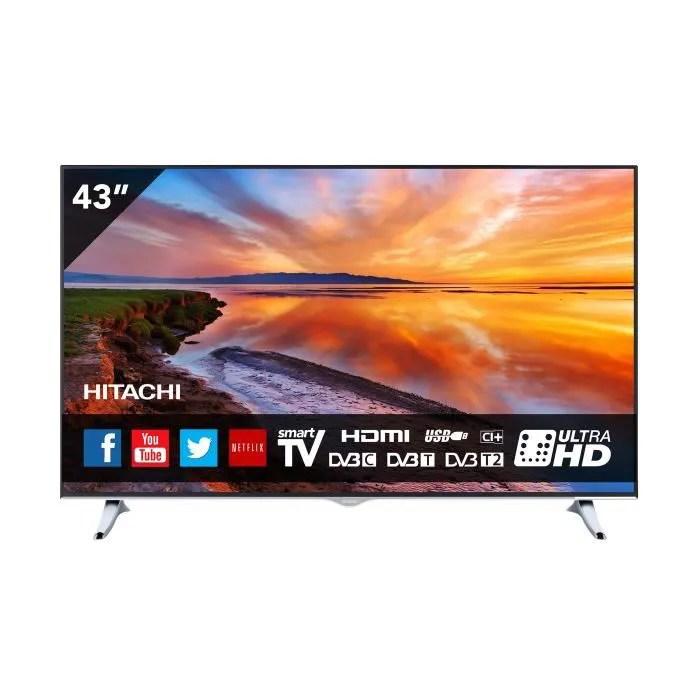 televiseur 43 pouces 110 cm smart tv
