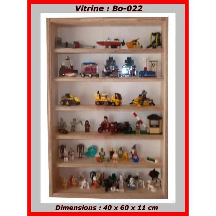 vitrine murale bo 022 pour collection miniatures d