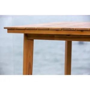 table de jardin rectangulaire achat