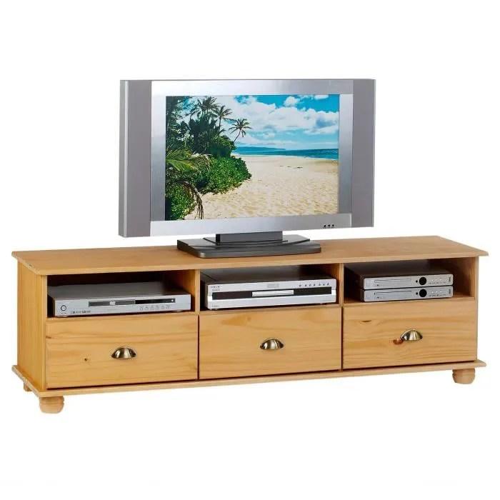 meuble tv colmar avec 3 niches et 3