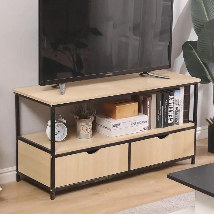 luxs meuble tv design industriel meuble de rangeme