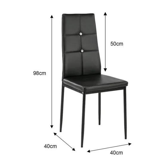 chaises de cuisine confortables but