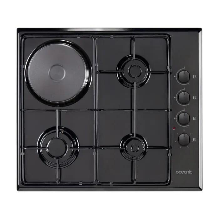 plaque de cuisson mixte