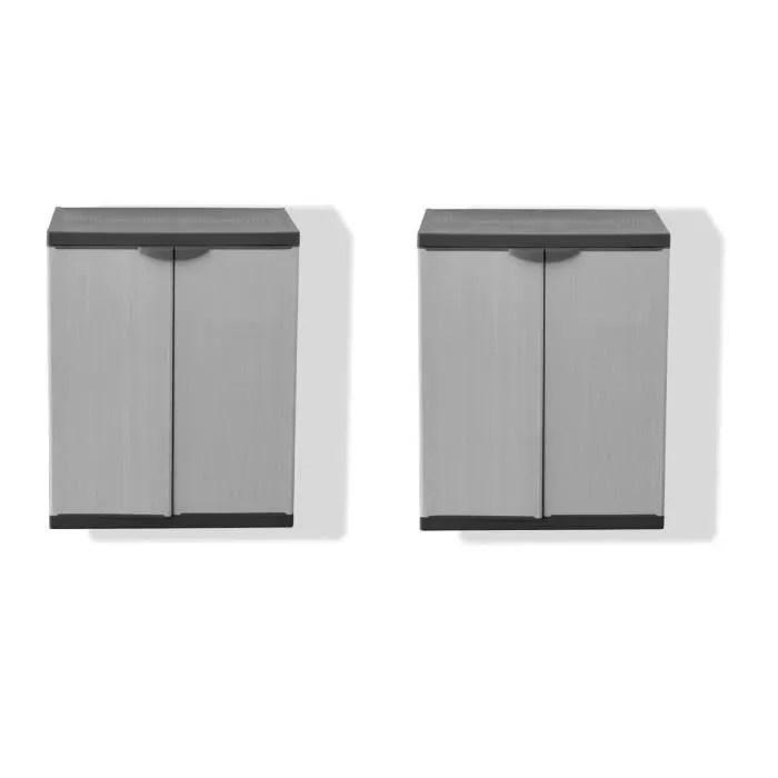 armoire de rangement exterieur en resine