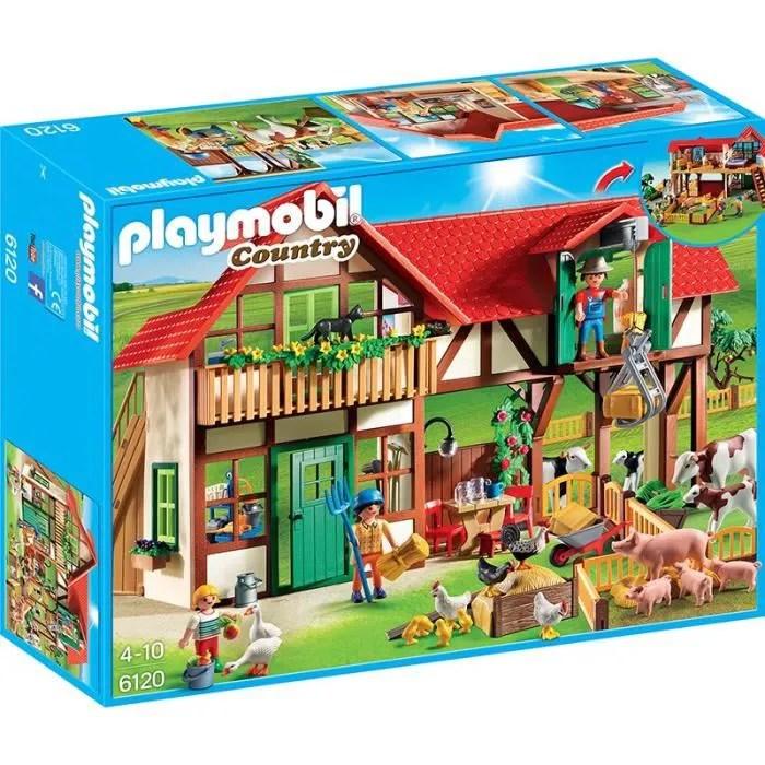 playmobil 6120 country grande ferme