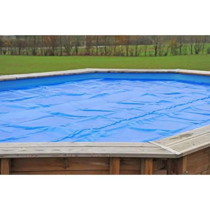 sunbay bache ete a bulles pour piscine carree en b