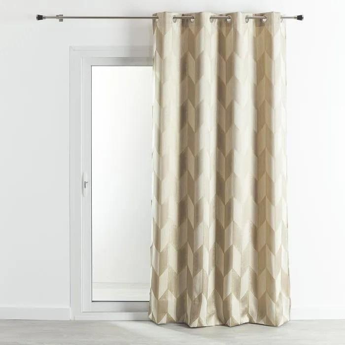 rideau motif or