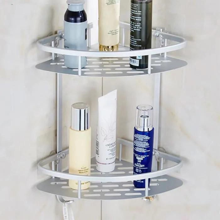 set accessoires salle de bain aluminium durable 2