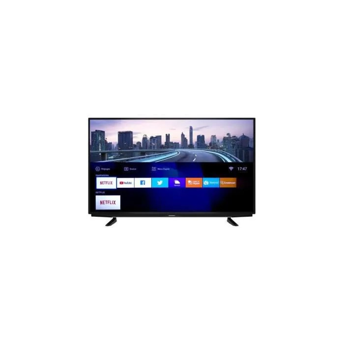 50 pouces led 127 cm uhd smart tv