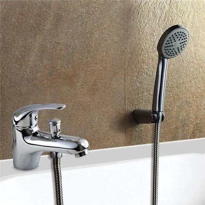 robinet mitigeur bain douche monotrou en laiton ch