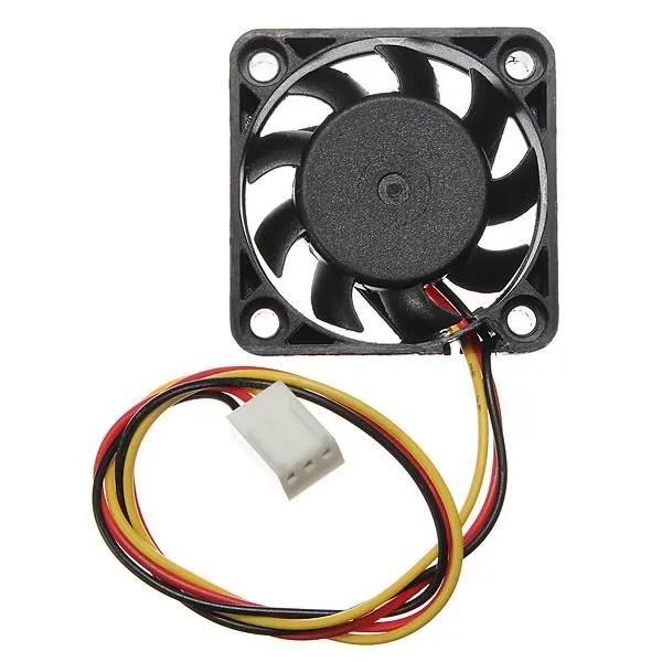 neufu cpu ventilateur fan refoidisseur radiateur 40x40x10mm pr ordinateur pc 12v 3 pin