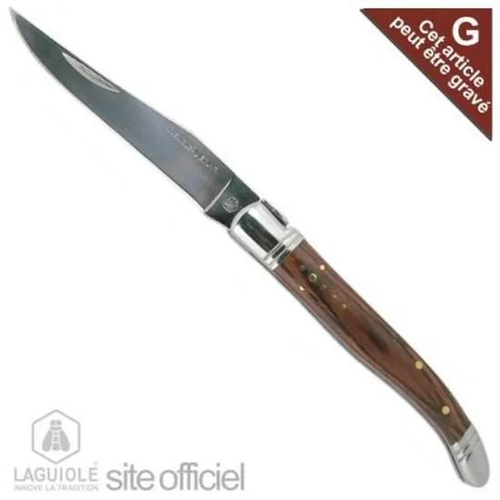 laguiole couteau laguiole pliant lg 22cm manc