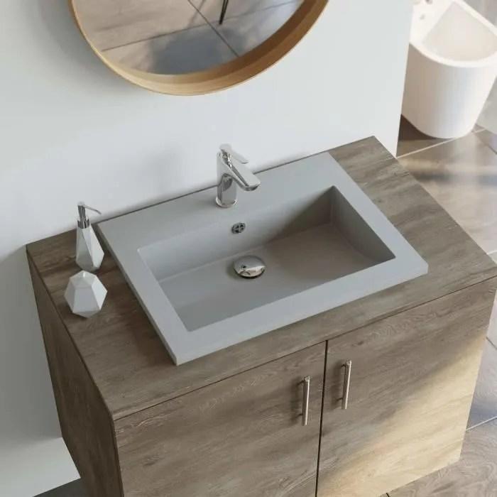 lavabo en granit vasque a poser pour salle de bain