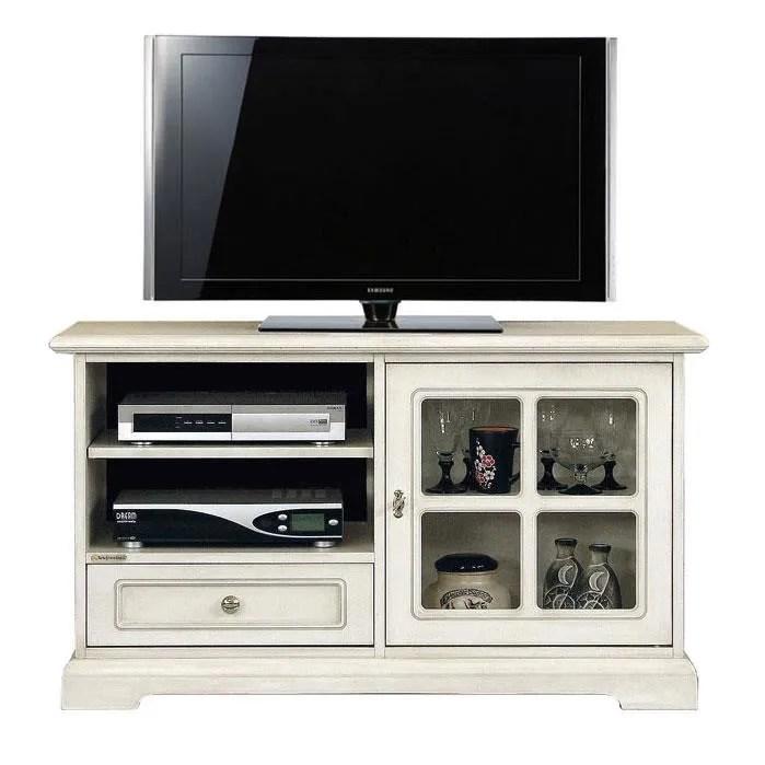 meuble tv vitre