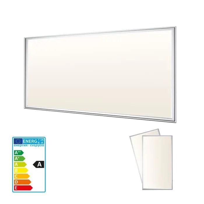 plafonnier led 120x60