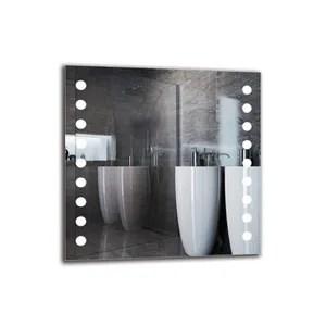 miroir salle de bain 100x100