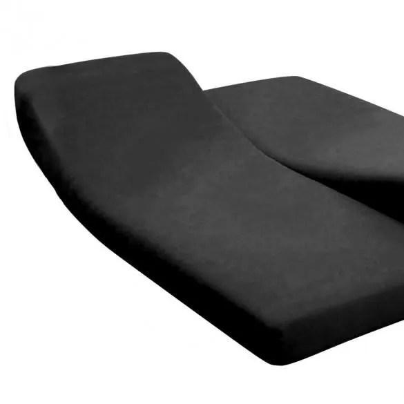 Drap Housse Pour Lit Articule 140 X 200 Cm 100 Coton 57 Fils Made In France Noir Achat Vente Drap Housse Cdiscount