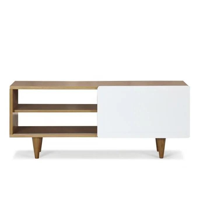nyla meuble tv 1 porte coulissante
