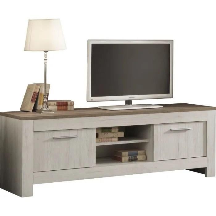 meuble tv contemporain 160 cm avec 1