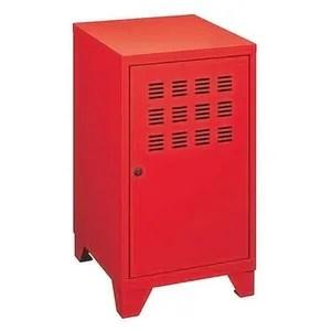 meuble de rangement rouge cdiscount