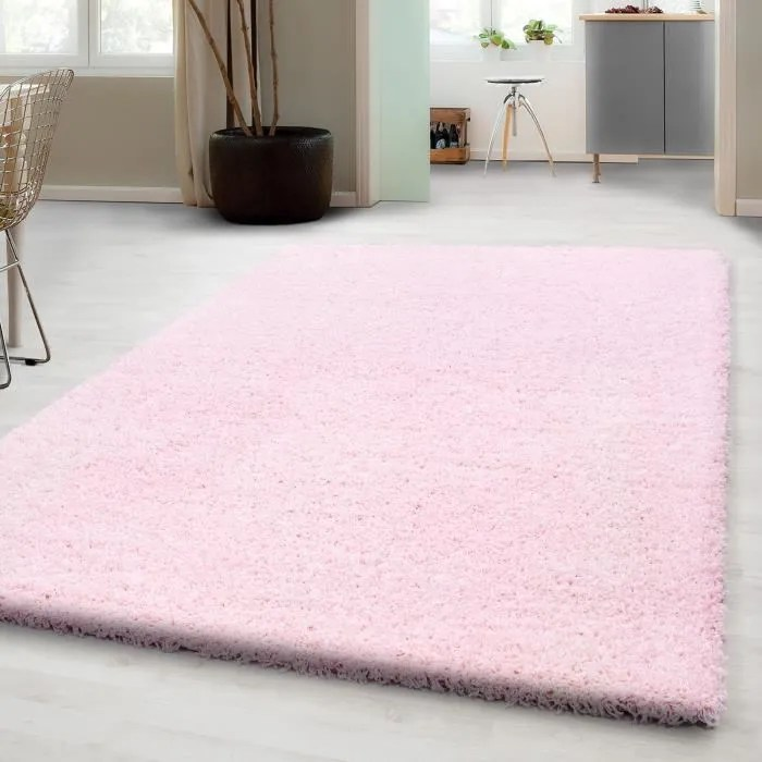 shaggy shaggy long tapis pas cher tapis anthracite