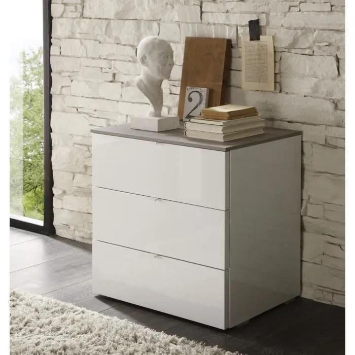 meuble de rangement design 3 tiroirs