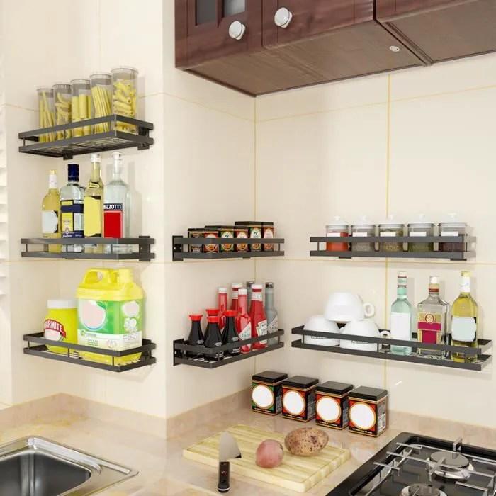 tempsa 25cm etagere rangement cuisine etagere murale cuisine etagere a epices cuisine