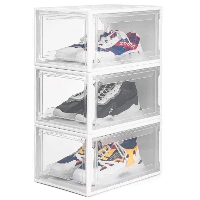وثب ارتداد الفضاء الإلكتروني معدات rangement chaussures transparent