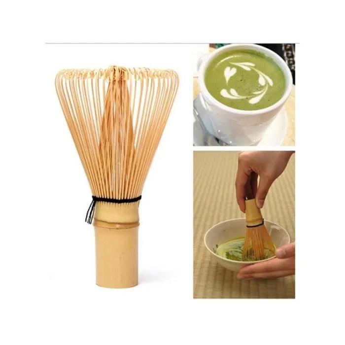 fouet en bambou pour la ceremonie du the matcha