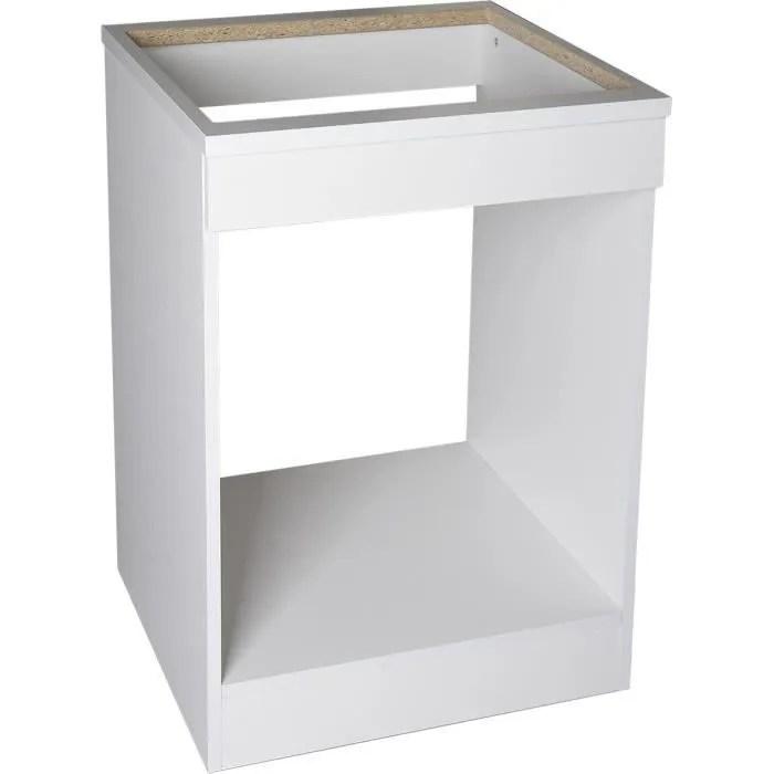 meuble bas de cuisine plaque