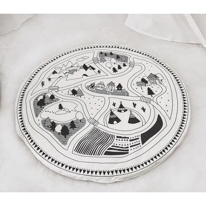 tapis eveil epais tapis de jeu pour bebe enfant ta