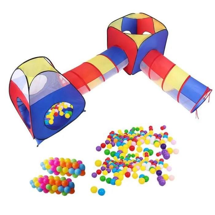 tente de jeu d enfant tunnel activite