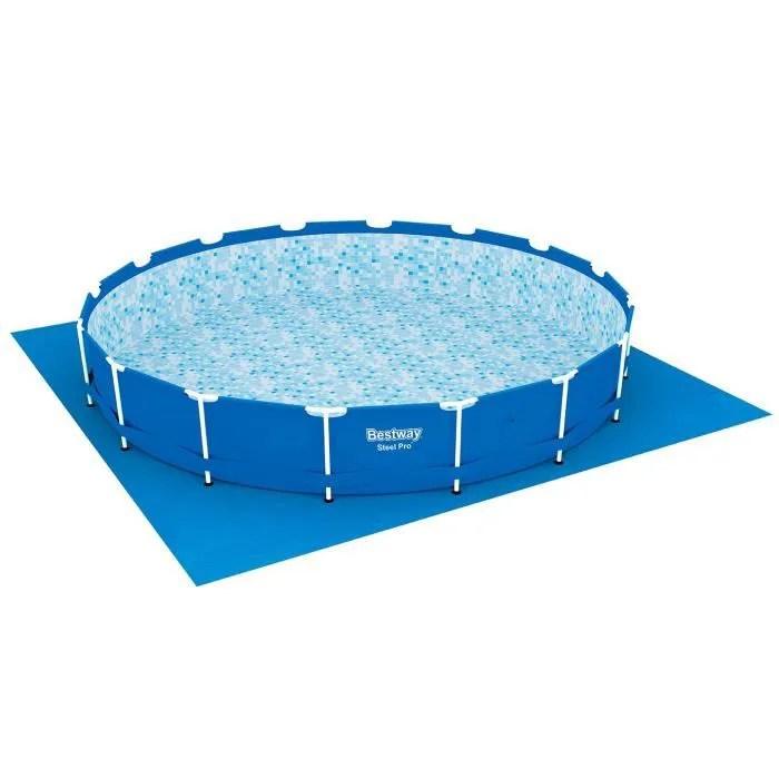 sol pour piscine ronde fast set pools