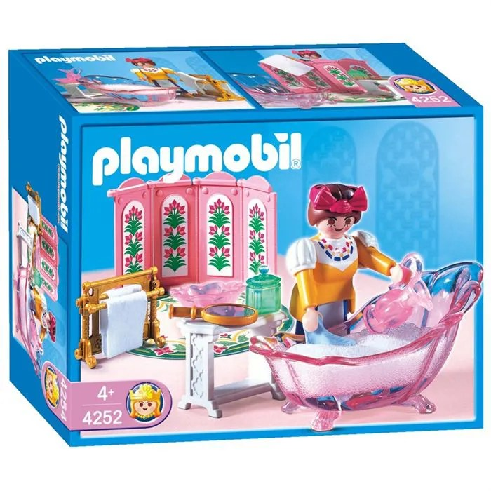 playmobil servante salle de bains de princesse
